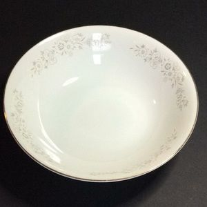 Winchester diamond china bowl made Japan flower